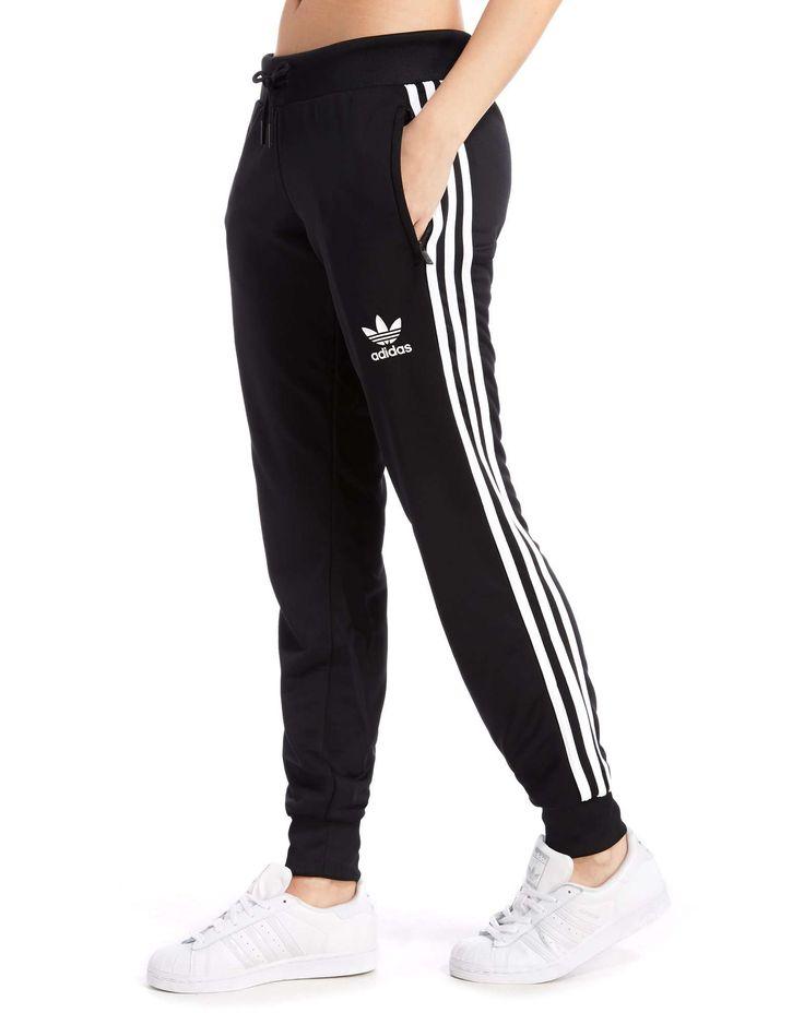 adidas Originals Poly 3-Stripes Pants - Shop online for adidas Originals Poly…