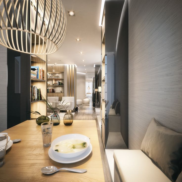 Private luxury apartments complex in  Western Africa. Full CGI project competed in 2014 for Tao Design Dubai