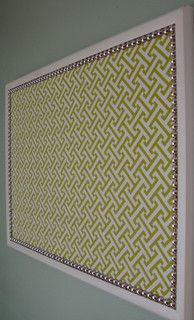 Decorative Bulletin Board, Large by Only Lally - modern - bulletin board - - by Etsy
