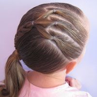 Prime 1000 Ideas About Little Girl Ponytails On Pinterest Toddler Short Hairstyles For Black Women Fulllsitofus