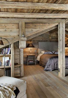 Chambre sous les toits