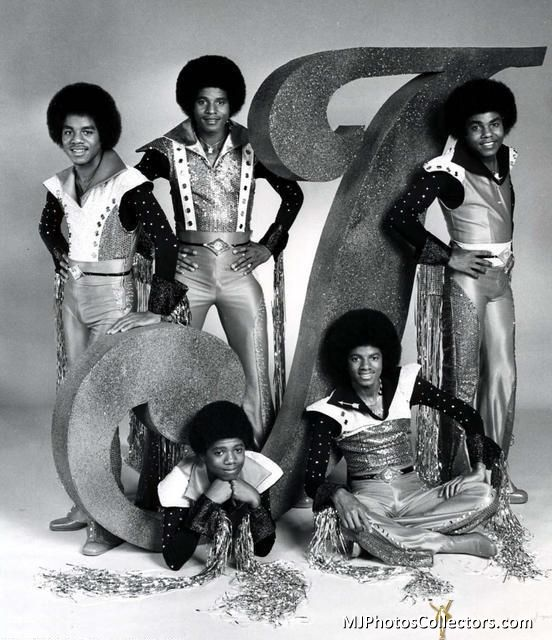 1976 - Cbs The Jacksons Tv Shoot
