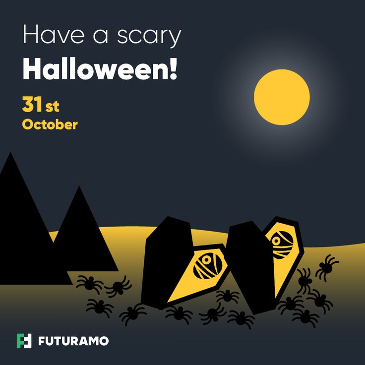 Have a spooky Halloween with Futuramo #Halloween #icons available for free! Visit https://futuramo.com/blog/