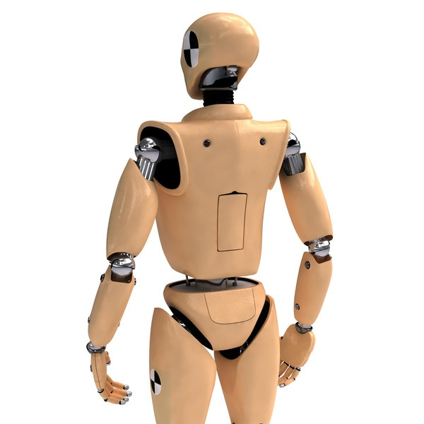 Robots are used as crash test dummies and mannequins. They've widely replaced fashion models.