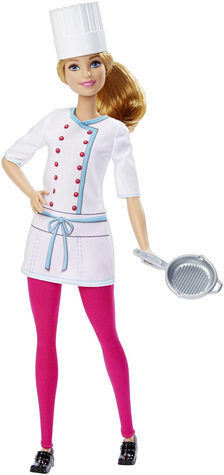 Barbie careers chef doll be anything with barbie career