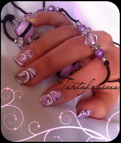 tartofraises nail art | tartofraises nail art | Flickr - Photo Sharing!. #nails #nailart #naildesign #designs