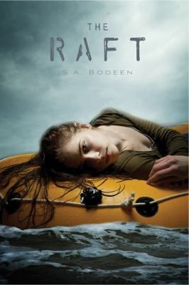 The Raft by S.A. Bodeen: Robbie's last-minute flight to the Midway Atoll proves to be a nightmare when the plane goes down in shark-infested waters.  Fighting for her life, the co-pilot Max pulls her onto the raft, and that's when the real terror begins.