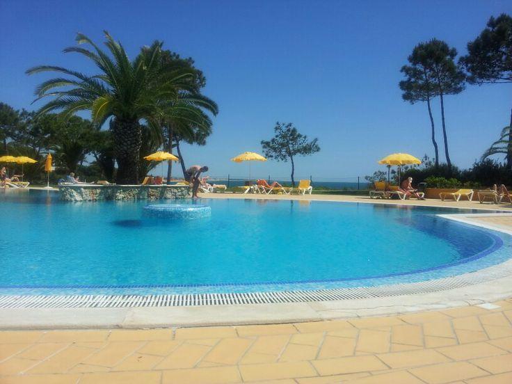 Één van de zwembaden van Alfagar.