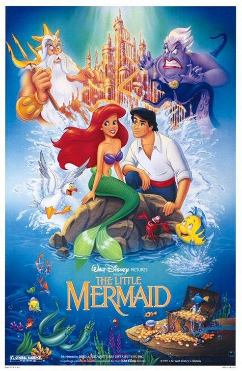 The Little Mermaid (La sirenetta) - Disney (1989)