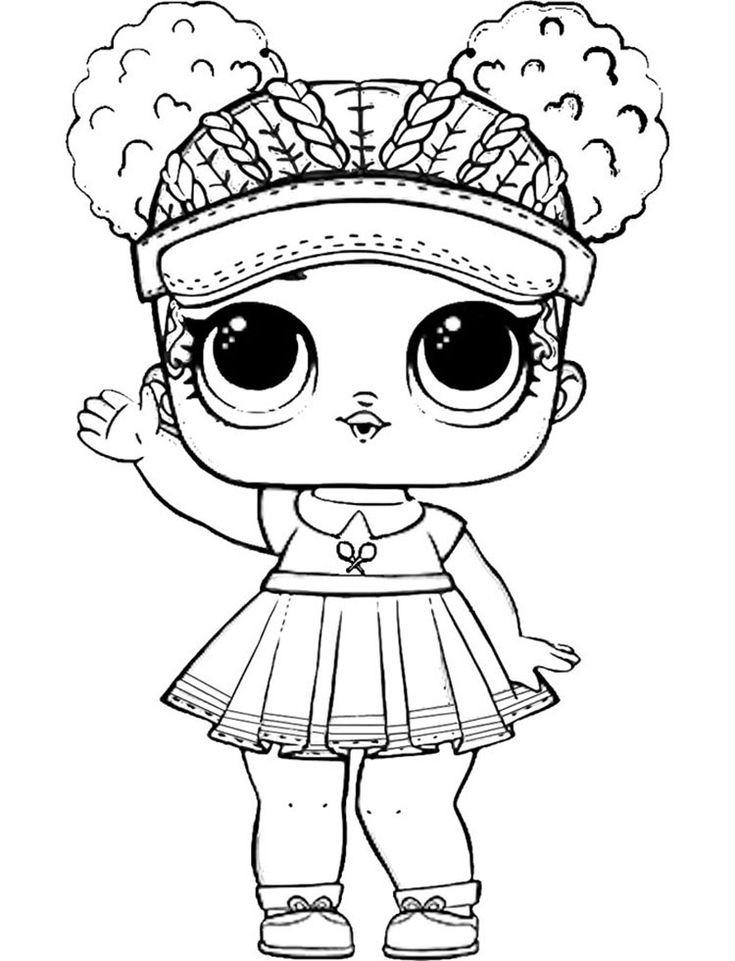 Раскраски Кукла Лол распечатать бесплатно | Раскраски ...