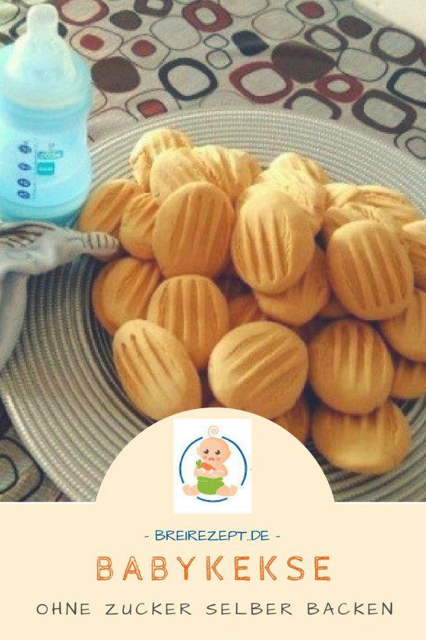 Babykekse ohne Zucker selber backen #backen #beikost #zuckerfrei