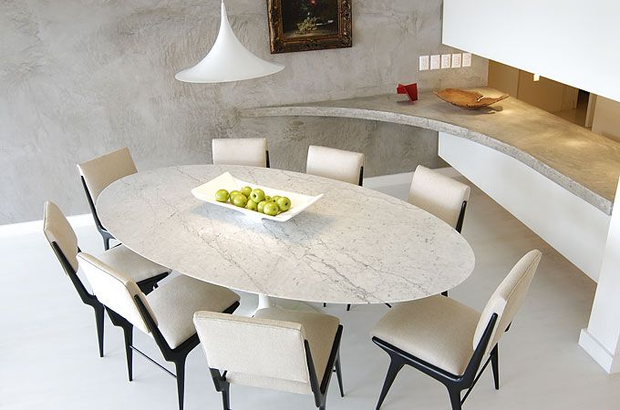 Blog Assim Eu Gosto » Blog Archive » Salas de jantar (5) – mesa oval