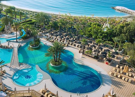 Awarded the 'Blue Flag' for its beautiful well-kept sandy beach, and with plenty on offer for children, the Four Seasons Hotel in Limassol is a perfect choice for a holiday on #Cyprus