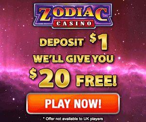 Zodiac Casino Free Deposit Bonus