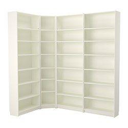 BILLY Bookcase - white - IKEA