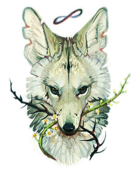 Cannot Keep it Secret Art Print - Mangy Coyote