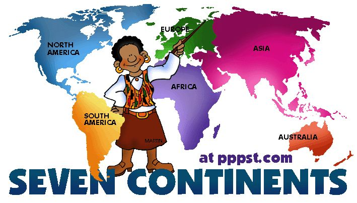 The Continents - Free Presentations in PowerPoint format, Free Interactive…