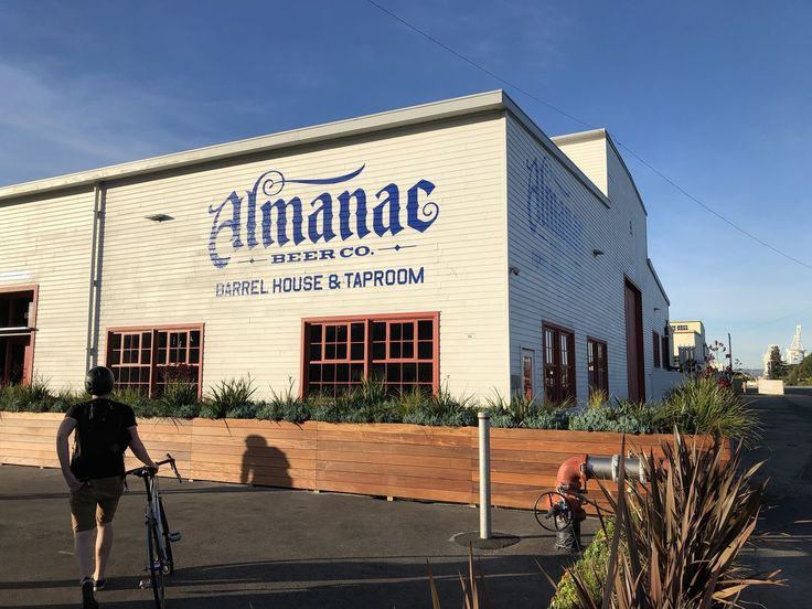 Almanac Beer Co. Kicks Off New Brewery and Taproom This Week in Alameda  - Eater SF
