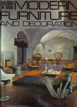 MODERN FURNITURE AND DECORATION BY ROBERT HARLING (1971) - $49.99 : PopuluxeBooks, Retro Info For Your Mod Style