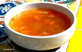 comida tipica de chihuahua,caldo de pescado ( caldo de oso )