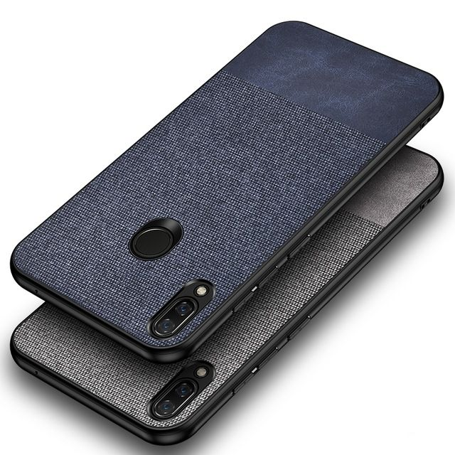 For Xiaomi Redmi Note 7 Pro Case Fabric Cloth 360 Full Protection Hard Pc Back Cover For Redmi Note 7 N Mobile Phone Logo Mobile Phone Covers New Mobile Phones