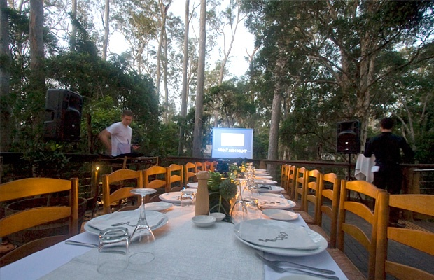 Product launch or awards dinner in the bush? Now why didn't you think of that?!  (Photo taken during NIVEA product launch)