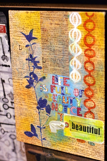 7gypsies booth at CHA 2012 www.sevengypsies.... #scrapbooking  #journaling: 2012 Color, Art Ideas