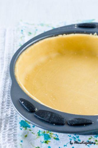 тесто для тарта рисово-кукурузное