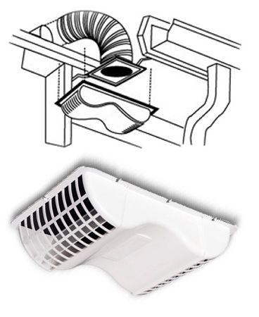 Under Eave Dryer Vent Kit