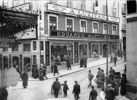 Rua Garret - 1900