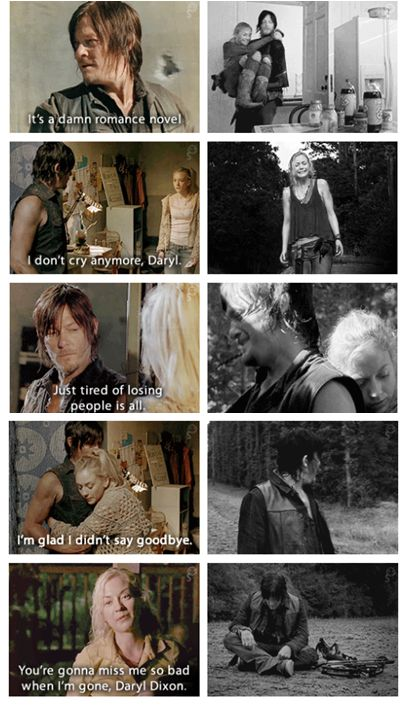 Daryl & Beth (Norman Reedus and Emily Kinney) | The Walking Dead, Bethyl moments