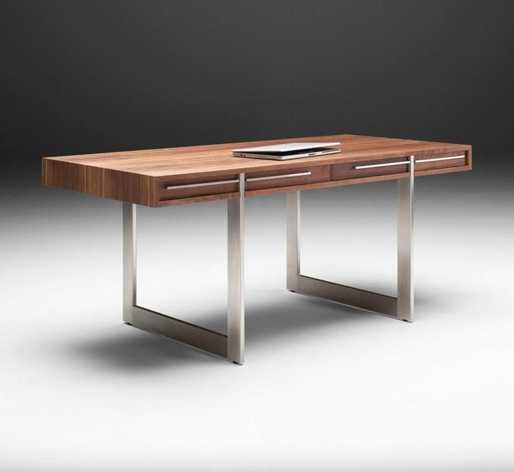 AK 1340 Executive Desk Designed By Aksel Kjersgaard   Modern Office  Furniture   Solid Wood Desks   Madison WI