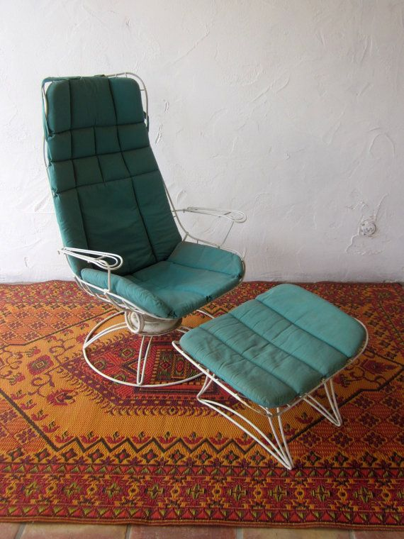 vintage HOMECREST Eames Era Bertoia PATIO by welovelucite on Etsy