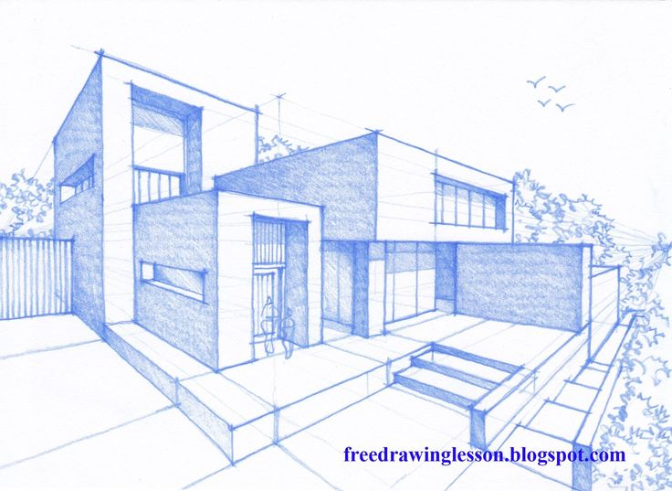 Let us try to draw this house design by following the step by step process in the video. good luck and do visit www.drawzania.com