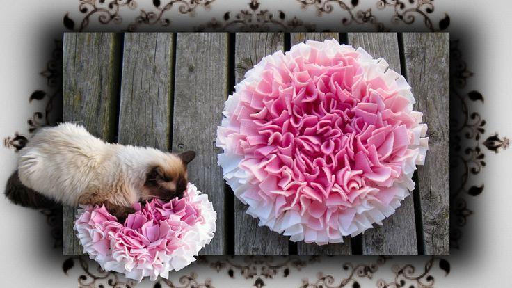 DIY Fummel Schnüffel Matte für Katzen & Hunde