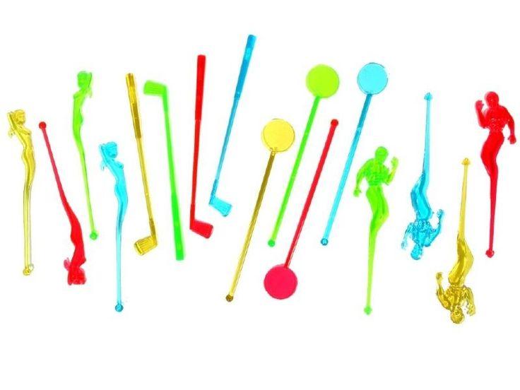 Oryginalne mieszadełka do drinków, które dodadzą koloru każdej imprezie.