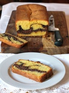 If you LOVE Nutella like me then you're going to love this Nutella Bread/cake. * Also (my opinion ) Nutella on a warm fresh baked, crusty french bread is the best !
