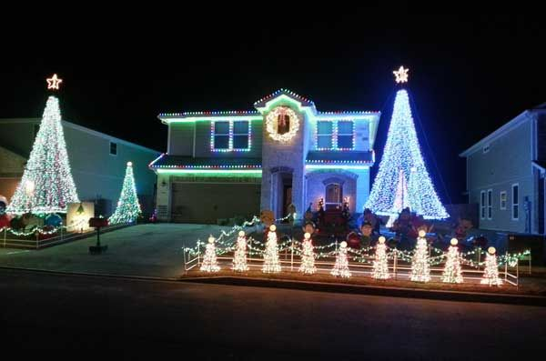 Week Two Winner: Best Outdoor Christmas Lights Display - Collecting for local San Antonio foster care system charity
