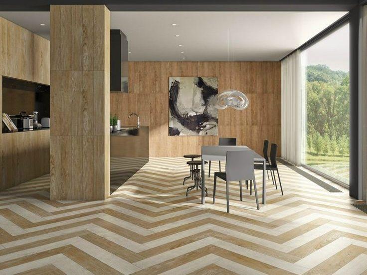 Revestimento de pisos/paredes com efeito de madeira VILLA by Revigrés
