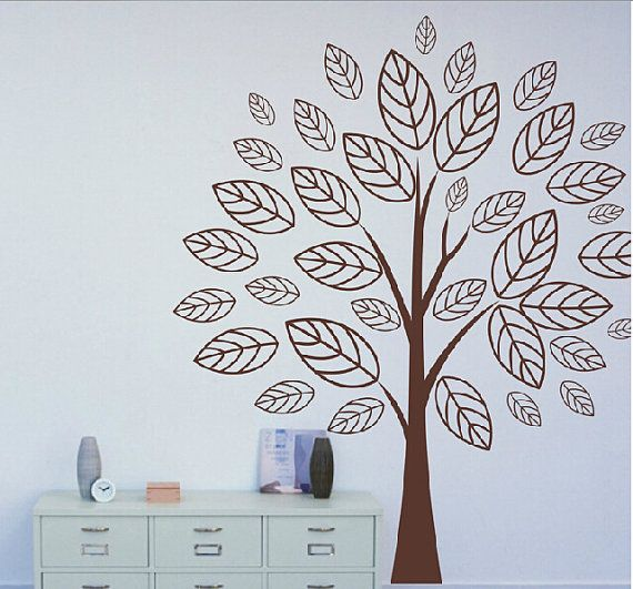137 best wall stickers images on Pinterest | Wall clings ...