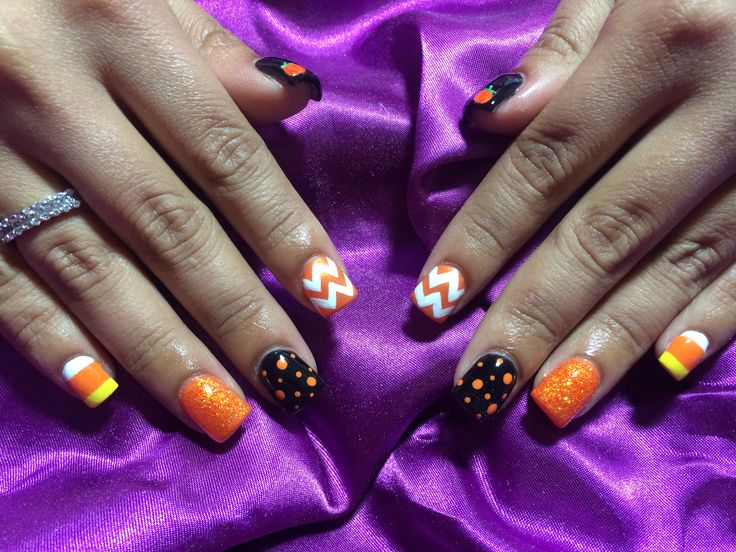 Nails Art: Best 25+ Cute Halloween Nails Ideas On Pinterest