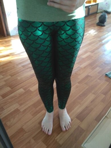 b7955e7f396080 Creative Mermaid Colorful Leggings mermaid leggings, mermaid pants, mermaid  tights, fish scale leggings