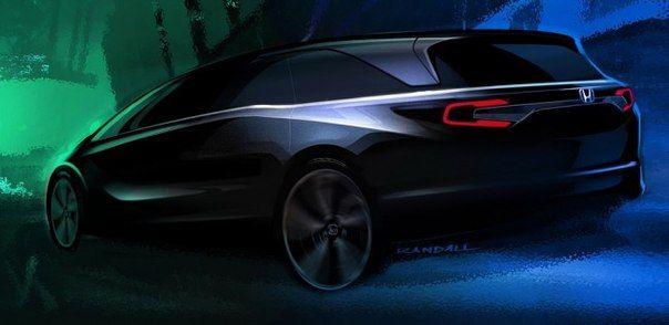 «Хонда» показала силуэт минивэна Odyssey нового поколения / Только машины