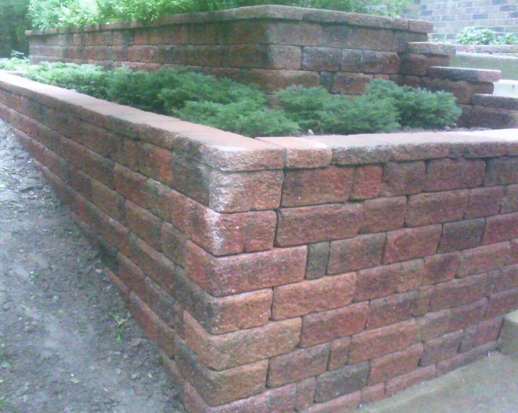 55 best retaining walls images on pinterest backyard for Landscaping rocks ann arbor