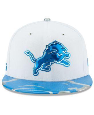 New Era Boys' Detroit Lions 2017 Draft 59FIFTY Cap - Blue 6 1/2