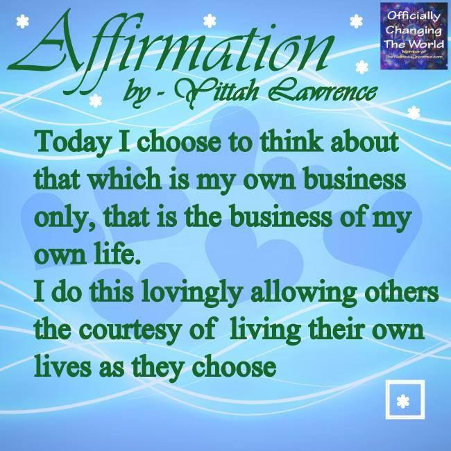 ►  Positive Spiritual Affirmation ◄