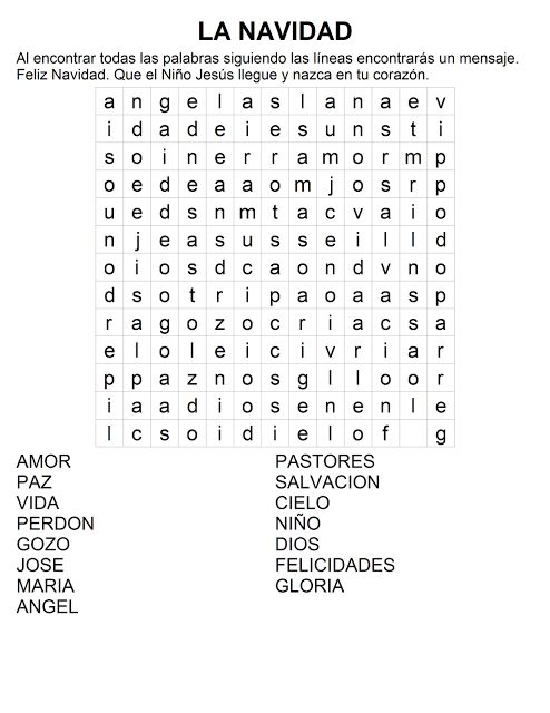 10 best images about sopas de letras on pinterest - Sopa de letras de navidad ...