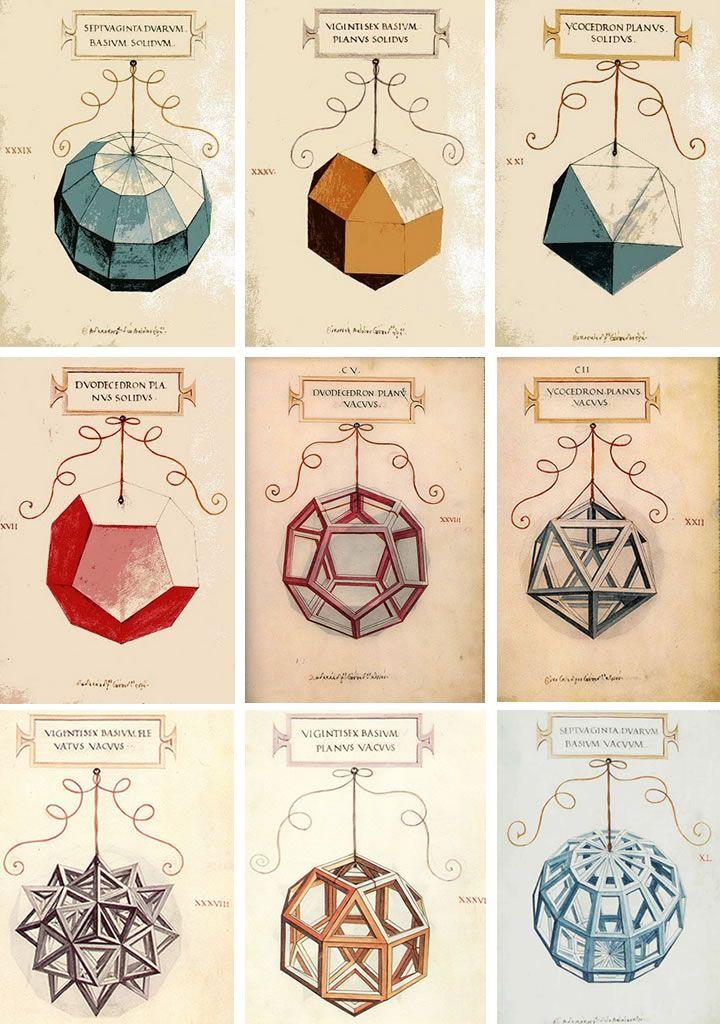 Symbols - Leonardo da Vinci's Geometric Sketches