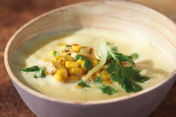 Mais-Kokos-Suppe Rezept - [ESSEN UND TRINKEN]