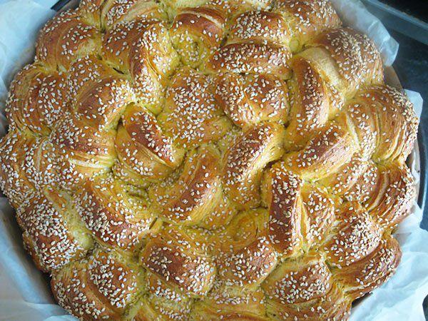 Pogača s margarinom / Flat Bread with Butter
